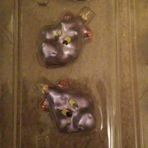 Walt Disney World - Epcot - Figment Ornaments